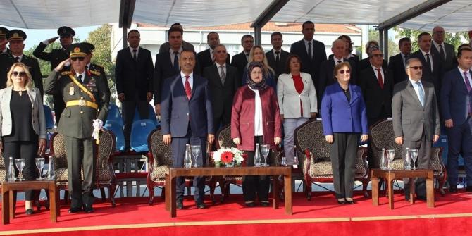 Cumhuriyet Bayramı Gelibolu'da coşkuyla kutlandı