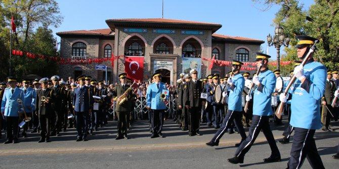 Ankara'da Cumhuriyet yürüyüşü