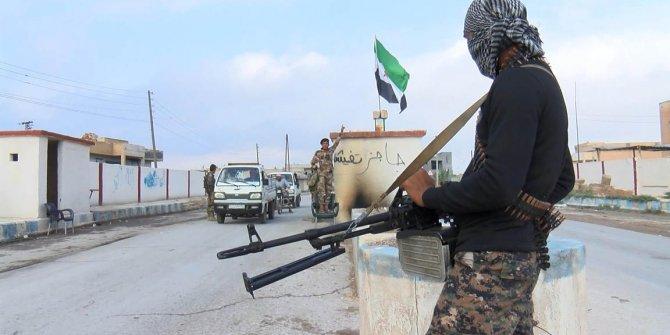 Tel Abyad'da teröristlerin tuzakladığı patlayıcılar imha ediliyor (3)
