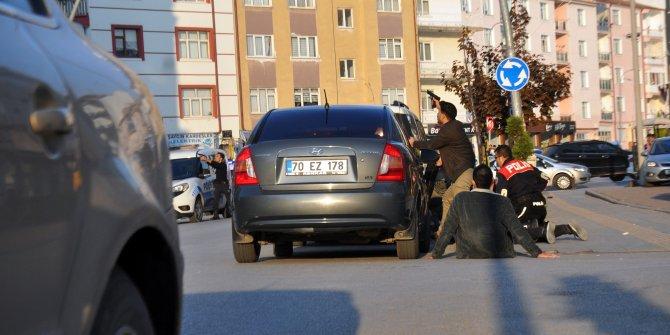 Karaman'da silahlı çatışma: 1'i polis 2 yaralı
