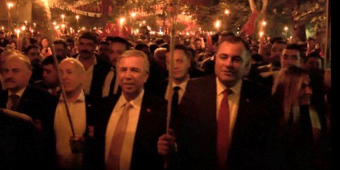 Ankara'da 'Fener Alayı' yürüyüşü gerçekleştirildi
