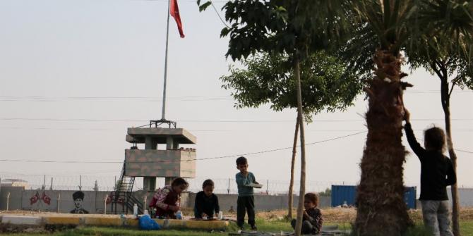 Sınırın Türkiye tarafı da huzura kavuştu