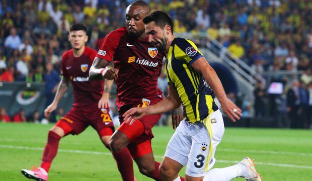 Kayserispor - Fenerbahçe açının ilk 11'leri belli oldu