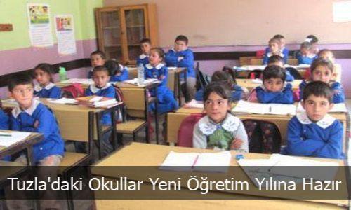 Okullar Yeni Öğretim Yılına Hazır