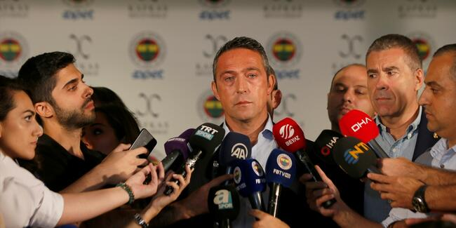 Fenerbahçe Spor Kulübü Başkanı Ali Koç'a PFDK şoku