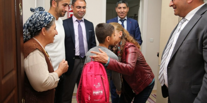 Tunceli'de bin öğretmen, öğrencilerini evde ziyaret etti