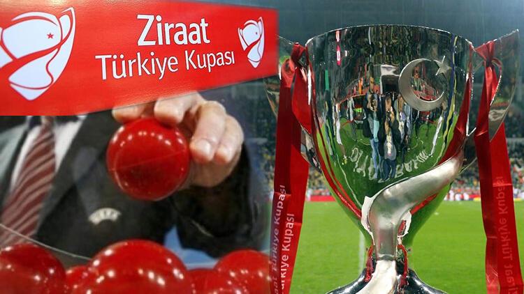 Ziraat Türkiye Kupası kuraları çekildi! Beşiktaş, Fenerbahçe, Galatasaray ve Trabzonspor'un rakipleri...