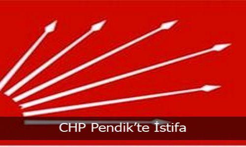 CHP Pendik´te İstifa
