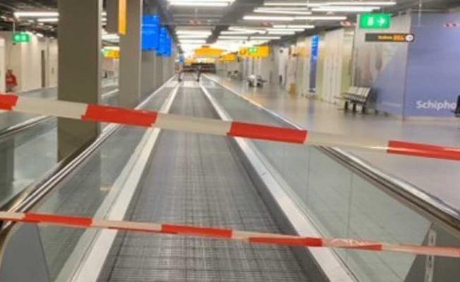 Amsterdam'da uçak kaçırma girişimi!