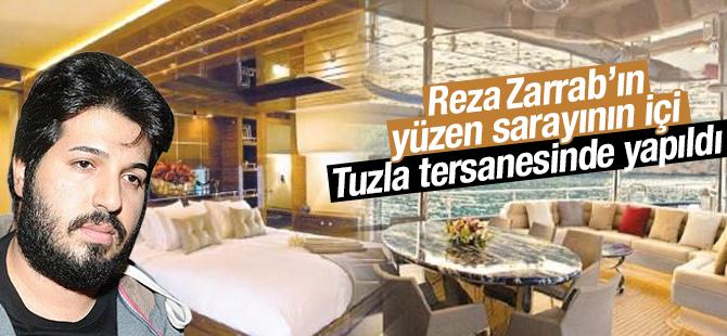 Zarrab'ın Yüzen Sarayı Tuzla'dan