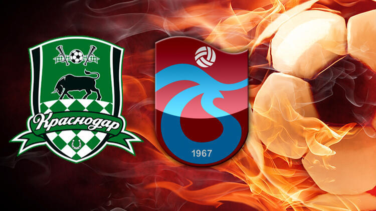 Krasnodar-Trabzonspor maçı ilk 11'leri belli oldu