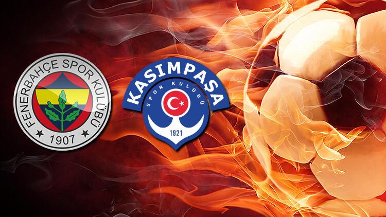Fenerbahçe Kasımpaşa maçının ilk 11'leri belli oldu