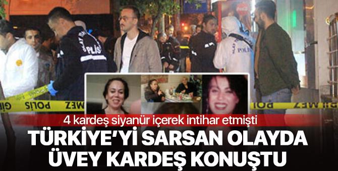Türkiye'yi derinden sarstı! Siyanürlü intihar olayında üvey kardeş konuştu