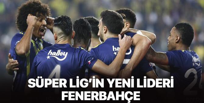 Süper Lig'in yeni lideri Fenerbahçe!