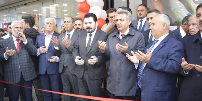 Ağrı'da Kızılay Kan Alma birimi açılışı yapıldı