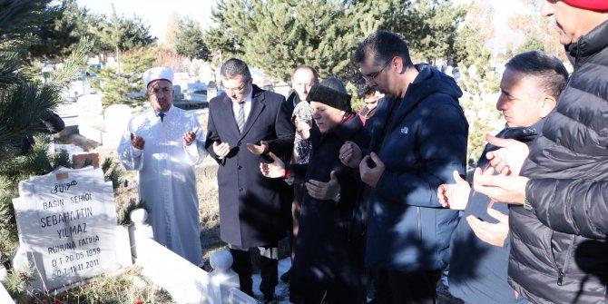 Depremde yaşamını yitiren DHA muhabiri Sebahattin Yılmaz, anıldı