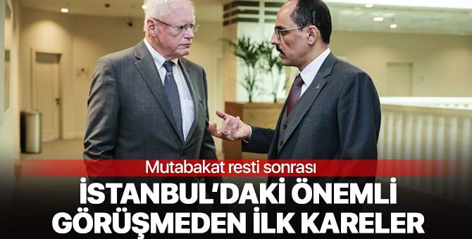 'Mutabakat' resti sonrası İstanbul'daki kritik görüşmeden ilk kareler geldi