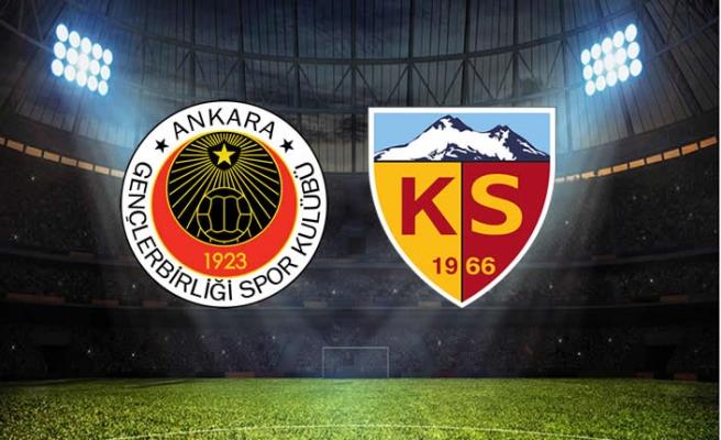 Gençlerbirliği - Kayserispor maçı ne zaman, saat kaçta hangi kanalda?