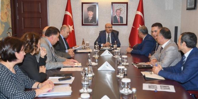 Adana Doğu Sanayi Sitesi için toplandılar