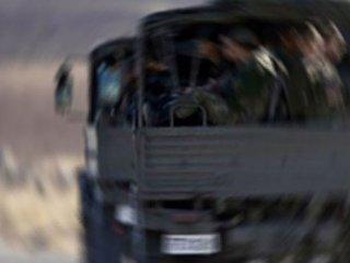 PKK Askeri Konvaya Saldırıdı! Yaralılar Var