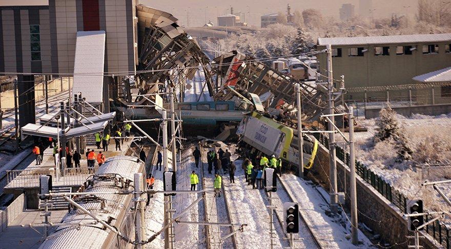 Tren kazasında dava 13 Ocak'ta görülecek