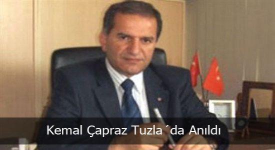 Kemal Çapraz Tuzla´da Anıldı