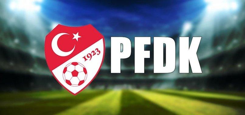 PFDK kararları açıklandı! Yıldızlara ceza yağdı...