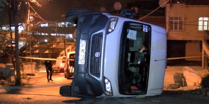 (Geniş Haber)Eyüpsultan'da okul servisi kaza yaptı: 7 çocuk yaralandı