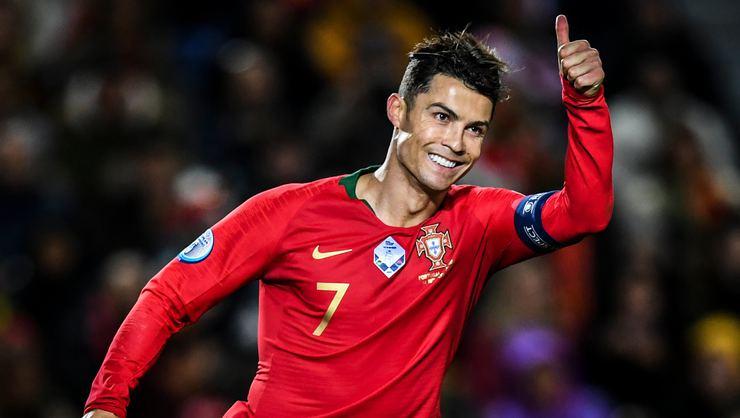 Portekiz Litvanya'ya 6 tane attı! Ronaldo 55. kez hat-trick yaptı