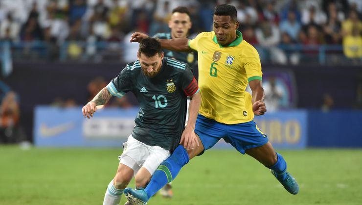 Brezilya - Arjantin maç sonucu: 0-1