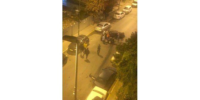 Polisten kaçan şüpheliler park halindeki 6 otomobileçarptı: 2 yaralı