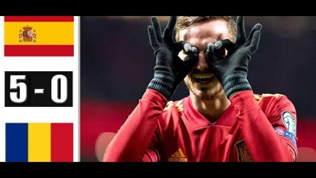 İspanya Romanya maç sonucu: 5-0 İspanya Romanya maç özeti