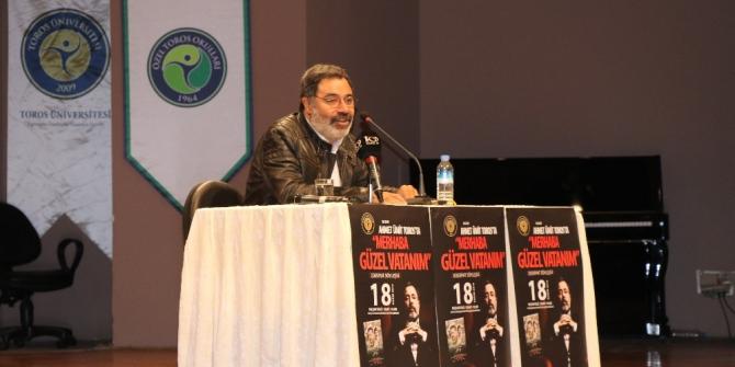Ahmet Ümit, Toros Üniversitesi öğrencileriyle buluştu