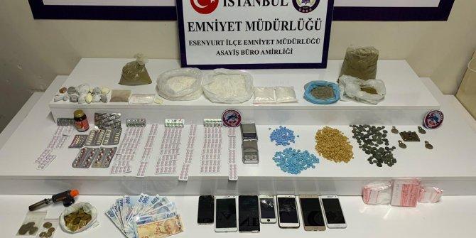 Esenyurt'ta uyuşturucu operasyonu: 4 gözaltı