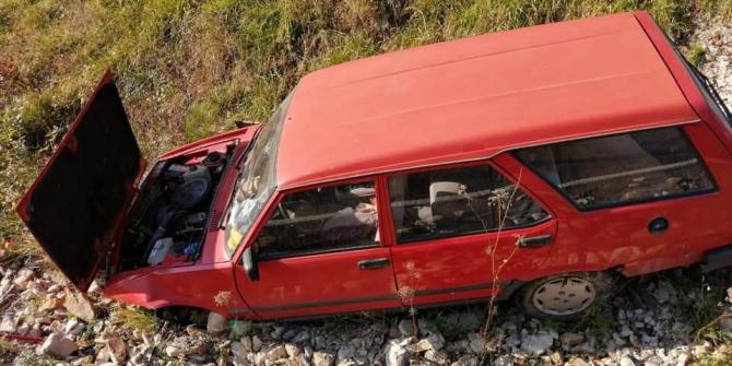 Çatalzeytin'e trafik kazası: 1 yaralı