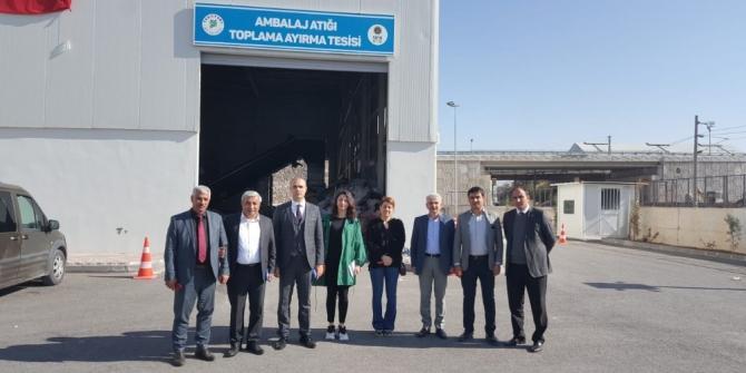 Kahramanmaraş'tan sıfır atık projesini inceleme  ziyareti
