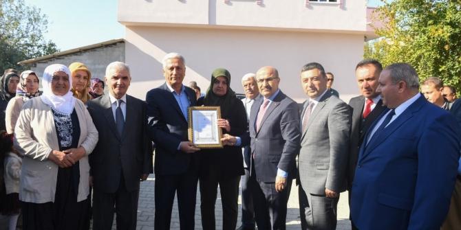 Şehit Mehmet Atıcı Kuran Kursu açıldı
