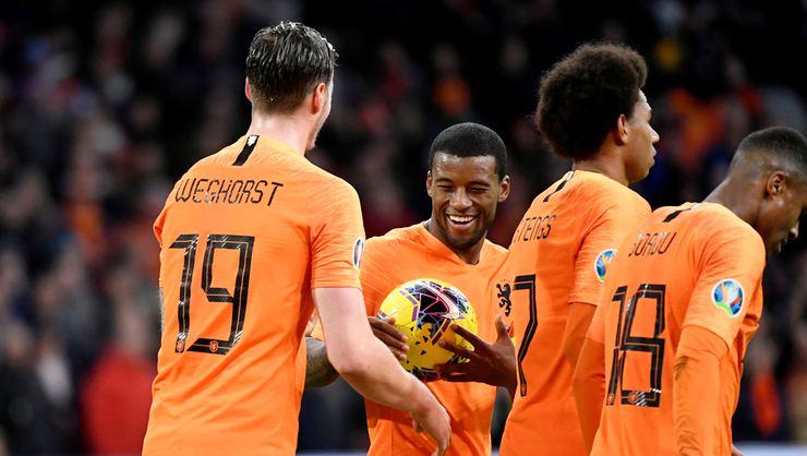 Hollanda-Estonya maç sonucu: 5-0 Hollanda-Estonya maç özeti