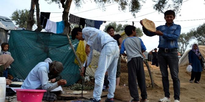 Yunanistan'da hükümetten mülteci kampı hamlesi