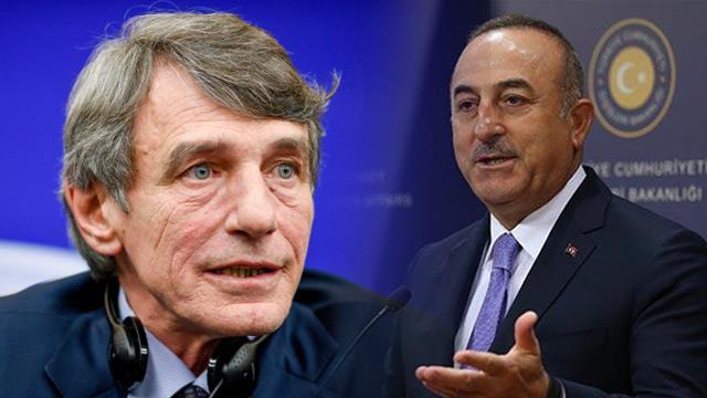 Bakan Çavuşoğlu, Avrupa Parlamentosu Başkanı'nı rezil etti!