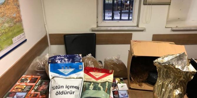 Polis, Kadıköy ve Sancaktepe'de kaçak tütün satan şahıslara göz açtırmadı