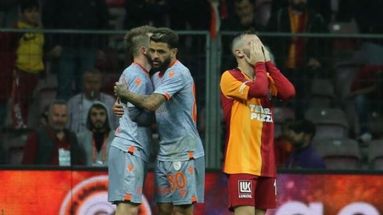 Galatasaray'ın 41 maçlık yenilmezlik serisi bitti!