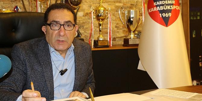 Karabükspor'un eski Başkanı Ziya Ünsal vefat etti