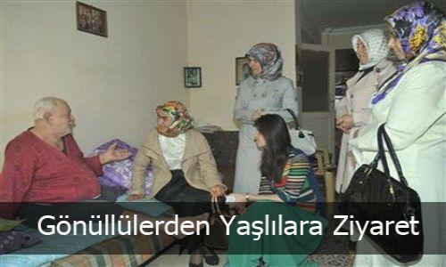 Gönüllülerden Yaşlılara Ziyaret