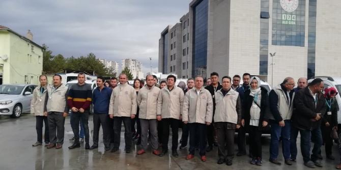 Kayseri'de 16 ekiple 250 işletmeye gıda denetimi
