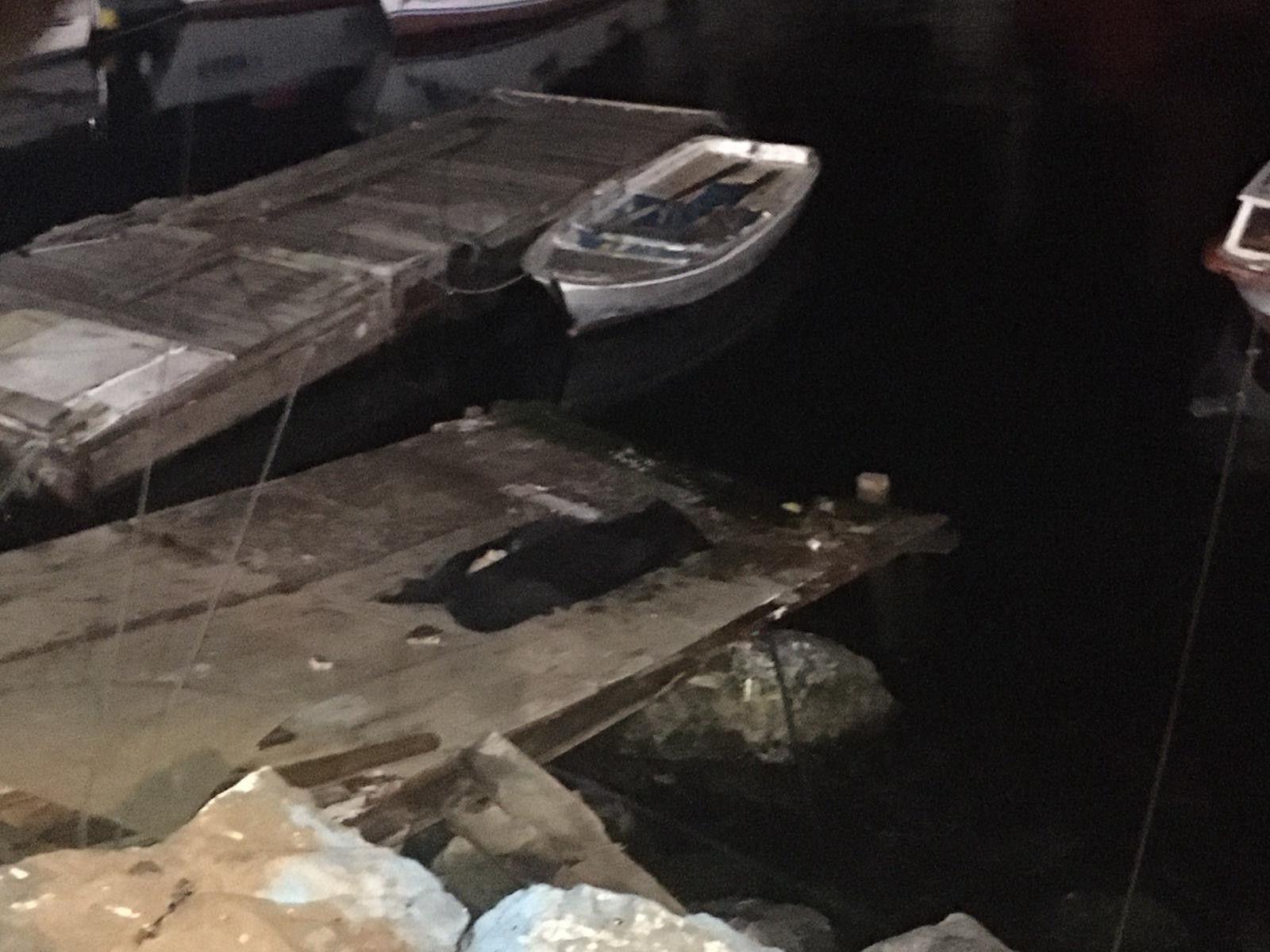 Pendik Sahil'de erkek cesedi bulundu