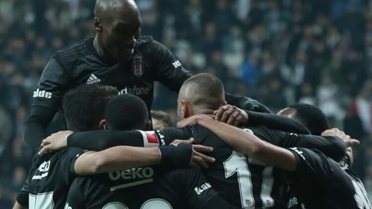 Beşiktaş'tan Vodafone Park'ta gol şov!