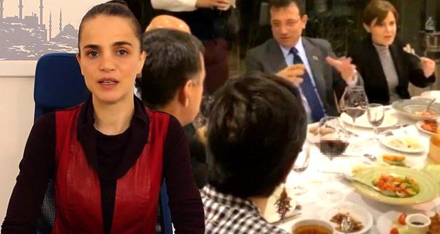 Tuğçe Kazaz'dan Ekrem İmamoğlu'na 'Simsar' eleştirisi