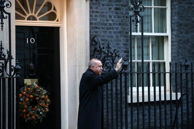 Londra'daki tarihi zirve sonrası Erdoğan'dan ilk açıklama