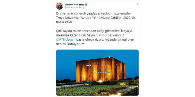Troya müzesi, 'Avrupa Yılın Müzesi Ödülleri'nde finala kaldı